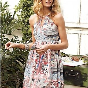 Beautiful Anthropologie midi-dress